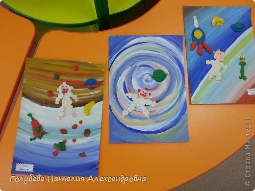 """Вот такие замечательные работы у нас получились с детьми детского сада """"Мозаика"""". фото 3"""
