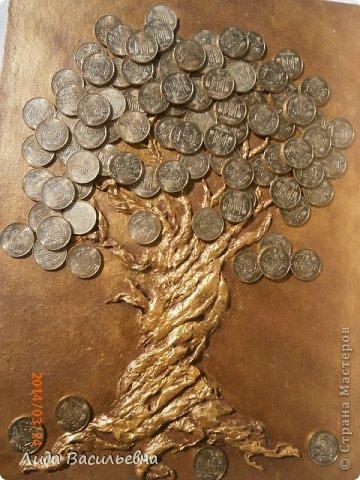 Как сделать денежное дерево из монет и купюр 5