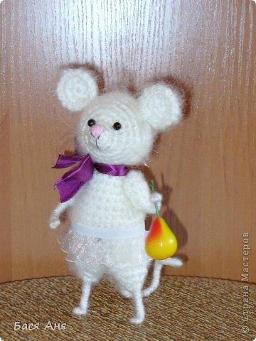 Вот такая мышка-малышка родилась у меня недавно.