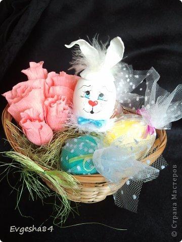 Корзинки с пасхальными кроликами фото 3