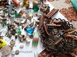 Мастер-класс Хлам-декор  предмет для нужных вещей  Материал бросовый фото 19