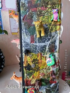 Мастер-класс Хлам-декор  предмет для нужных вещей  Материал бросовый фото 26