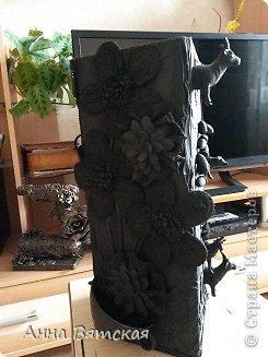 Мастер-класс Хлам-декор  предмет для нужных вещей  Материал бросовый фото 29