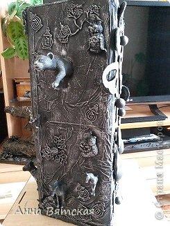 Мастер-класс Хлам-декор  предмет для нужных вещей  Материал бросовый фото 30