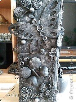 Мастер-класс Хлам-декор  предмет для нужных вещей  Материал бросовый фото 31