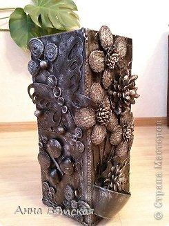Мастер-класс Хлам-декор  предмет для нужных вещей  Материал бросовый фото 34