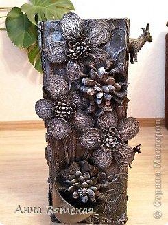 Мастер-класс Хлам-декор  предмет для нужных вещей  Материал бросовый фото 35