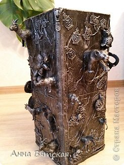 Мастер-класс Хлам-декор  предмет для нужных вещей  Материал бросовый фото 36