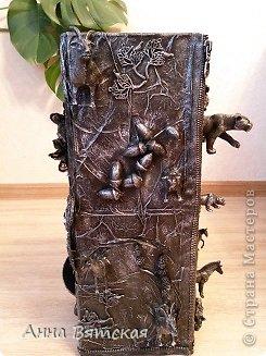 Мастер-класс Хлам-декор  предмет для нужных вещей  Материал бросовый фото 37