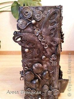 Мастер-класс Хлам-декор  предмет для нужных вещей  Материал бросовый фото 39