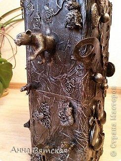 Мастер-класс Хлам-декор  предмет для нужных вещей  Материал бросовый фото 40