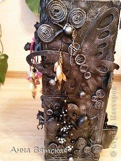 Мастер-класс Хлам-декор  предмет для нужных вещей  Материал бросовый фото 42