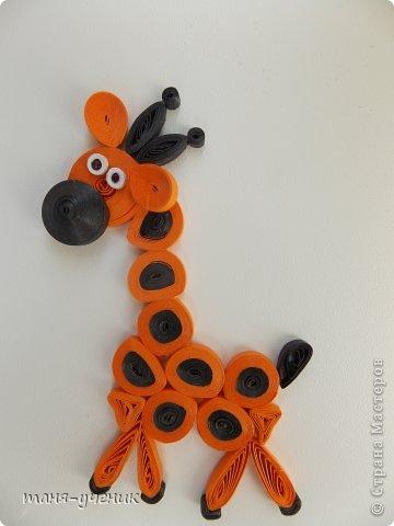 С сынулей накрутили, у него самый главный критерий, чтобы было с глазками :) Жирафик это больше моя работа, а вот остальные он крутил а я уже помогала собрать. фото 1
