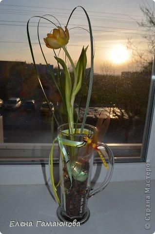Тюльпан с надписью фото 12