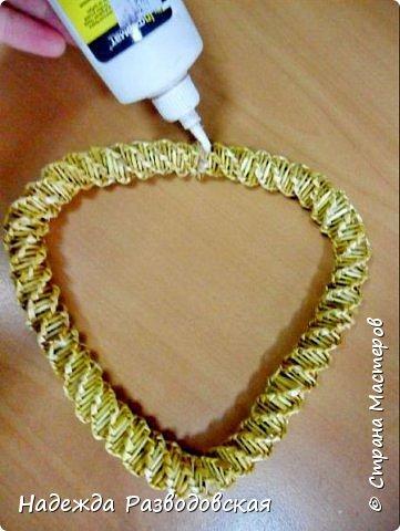 Мастер-класс. Спиральное плетение вокруг каркаса.( Из соломки, газетных трубочек, картонных полосок) фото 46