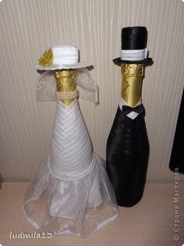 Добрый день! Готовлюсь к свадьбе дочери))) Вот сделала корзинку и букет-дублер... фото 9