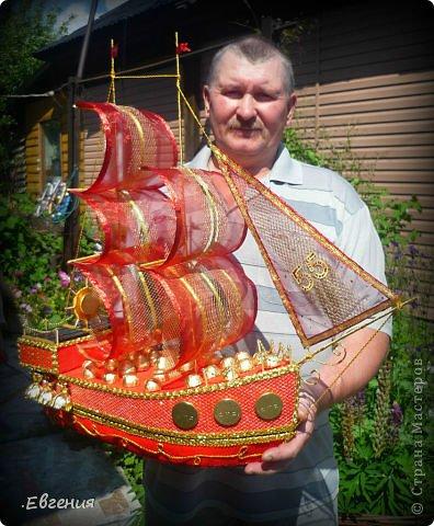 Кораблики из конфет своими руками мастер класс
