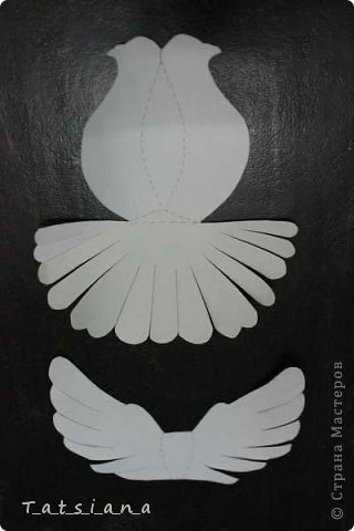 Мастер-класс Поделка изделие Выпускной День Победы Свадьба Бумагопластика И взмыли в небеса белые голуби унося с собою наши мечты Бумага фото 3