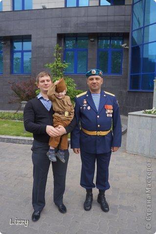 Еще в прошлом году нашла на просторах Ярмарки мастеров военный костюм и сразу захотелось мне сделать нечто подобное для своего сына. фото 4