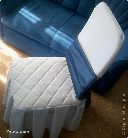 Интерьер Мастер-класс Шитьё ***Нарядный стул***+мини МК Ткань фото 2