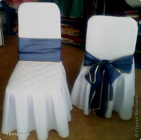 Интерьер Мастер-класс Шитьё ***Нарядный стул***+мини МК Ткань фото 19