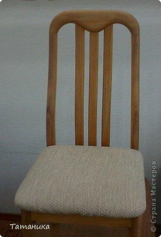 Интерьер Мастер-класс Шитьё ***Нарядный стул***+мини МК Ткань фото 3