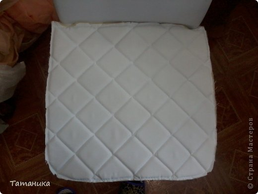 Интерьер Мастер-класс Шитьё ***Нарядный стул***+мини МК Ткань фото 16