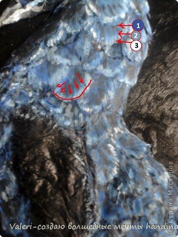 Картина панно рисунок Мастер-класс Поделка изделие Аппликация Ассамбляж Моделирование конструирование МК Ключница-бижутерница Павлин  Бумага Бусинки Бутылки пластиковые Вата Гуашь Диски ватные Картон гофрированный Клей Краска Крупа Проволока Скотч Шпагат фото 23