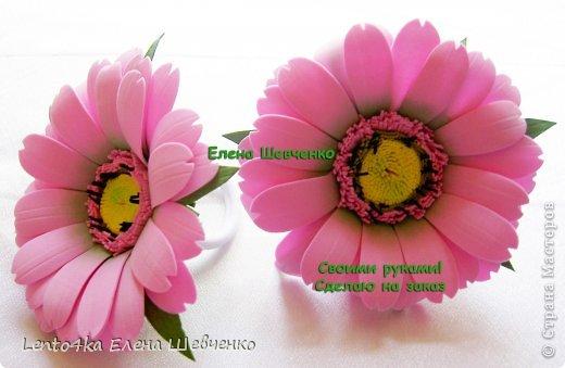 Как создать цветок герберы из фоамирана всего за…
