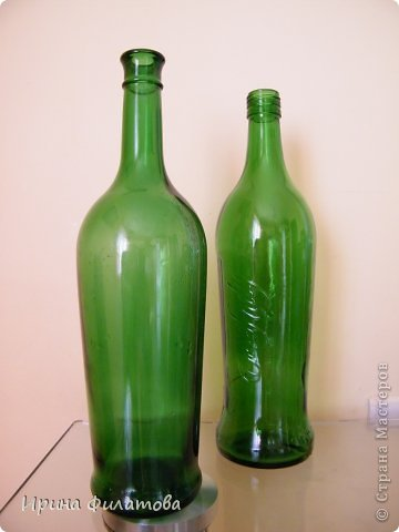 Мастер-класс Поделка изделие Плетение Наряжаем бутылочку   Бумага газетная Бутылки стеклянные Трубочки бумажные фото 13
