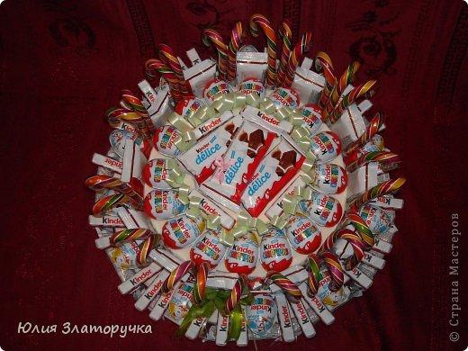 Получился такой вот тортик на 27 детишек на выпускной в дет.сад.  фото 2