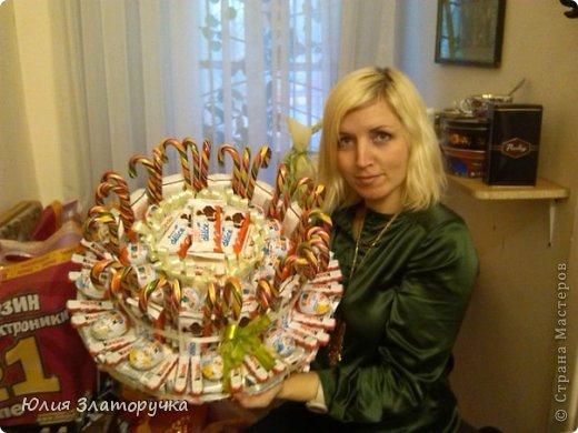 Получился такой вот тортик на 27 детишек на выпускной в дет.сад.  фото 4