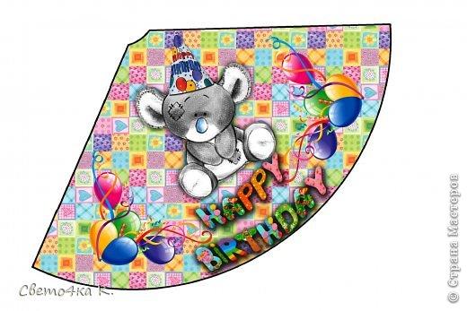"""Готовлюсь к первому Дню рождения Макса. Так как мишек тэдди я люблю давно, тематику решила выбрать соответственную - """"Голубоносые друзья мишки тэдди"""". Постараюсь в дальнейшем оформлении держаться этой линии. фото 9"""