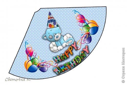 """Готовлюсь к первому Дню рождения Макса. Так как мишек тэдди я люблю давно, тематику решила выбрать соответственную - """"Голубоносые друзья мишки тэдди"""". Постараюсь в дальнейшем оформлении держаться этой линии. фото 3"""