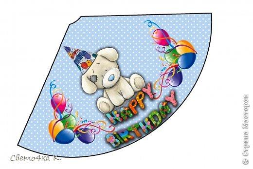 """Готовлюсь к первому Дню рождения Макса. Так как мишек тэдди я люблю давно, тематику решила выбрать соответственную - """"Голубоносые друзья мишки тэдди"""". Постараюсь в дальнейшем оформлении держаться этой линии. фото 2"""