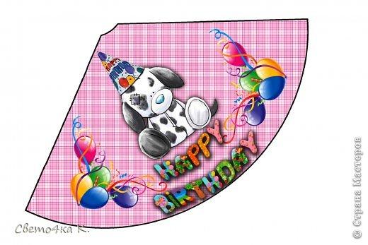 """Готовлюсь к первому Дню рождения Макса. Так как мишек тэдди я люблю давно, тематику решила выбрать соответственную - """"Голубоносые друзья мишки тэдди"""". Постараюсь в дальнейшем оформлении держаться этой линии. фото 5"""