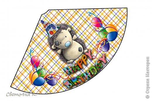 """Готовлюсь к первому Дню рождения Макса. Так как мишек тэдди я люблю давно, тематику решила выбрать соответственную - """"Голубоносые друзья мишки тэдди"""". Постараюсь в дальнейшем оформлении держаться этой линии. фото 6"""