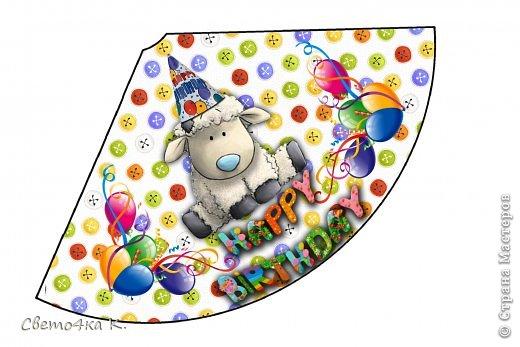 """Готовлюсь к первому Дню рождения Макса. Так как мишек тэдди я люблю давно, тематику решила выбрать соответственную - """"Голубоносые друзья мишки тэдди"""". Постараюсь в дальнейшем оформлении держаться этой линии. фото 7"""