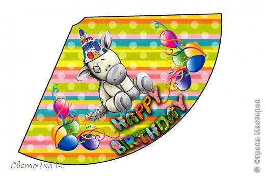 """Готовлюсь к первому Дню рождения Макса. Так как мишек тэдди я люблю давно, тематику решила выбрать соответственную - """"Голубоносые друзья мишки тэдди"""". Постараюсь в дальнейшем оформлении держаться этой линии. фото 8"""