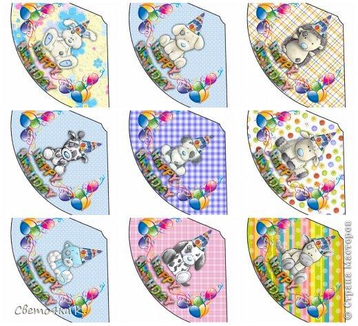 """Готовлюсь к первому Дню рождения Макса. Так как мишек тэдди я люблю давно, тематику решила выбрать соответственную - """"Голубоносые друзья мишки тэдди"""". Постараюсь в дальнейшем оформлении держаться этой линии. фото 1"""