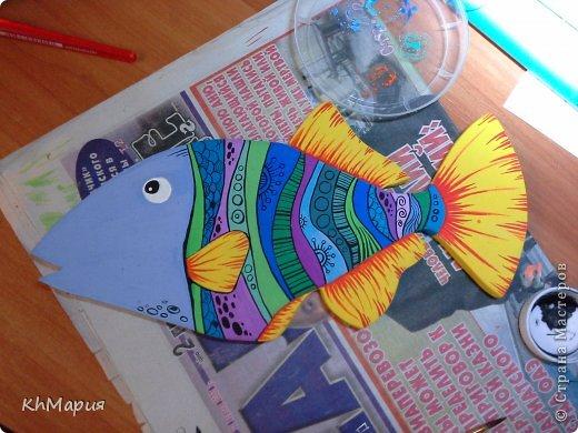 Рыбка из гипса своими руками 53