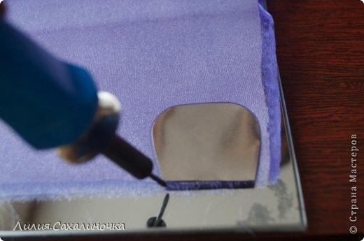 Мастер-класс Украшение Гильоширование Мастер-класс Розы из органзы Ленты Ткань фото 4