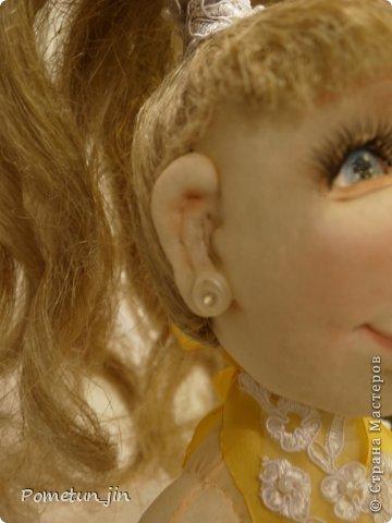 "Портретная кукла ""Фигуристка"". фото 3"