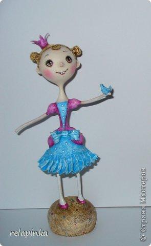 Куклы Мастер-класс Папье-маше Принцесса эксперимент и небольшой мк Бумага фото 2