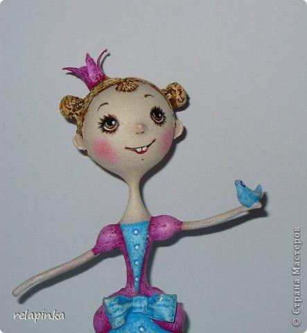 Куклы Мастер-класс Папье-маше Принцесса эксперимент и небольшой мк Бумага фото 15