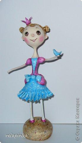Куклы Мастер-класс Папье-маше Принцесса эксперимент и небольшой мк Бумага фото 19