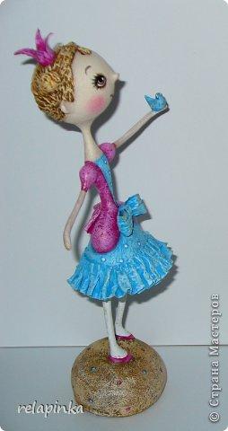 Куклы Мастер-класс Папье-маше Принцесса эксперимент и небольшой мк Бумага фото 17