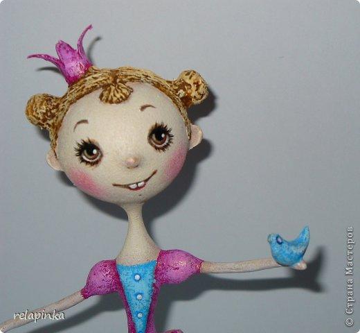 Куклы Мастер-класс Папье-маше Принцесса эксперимент и небольшой мк Бумага фото 18