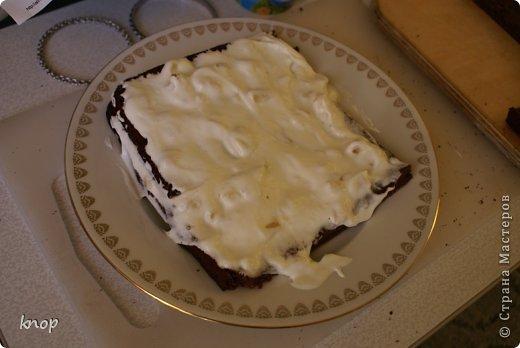 Кулинария Мастер-класс Рецепт кулинарный Готовим вместе шоколадно-банановый торт Продукты пищевые фото 25