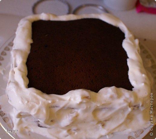 Кулинария Мастер-класс Рецепт кулинарный Готовим вместе шоколадно-банановый торт Продукты пищевые фото 28